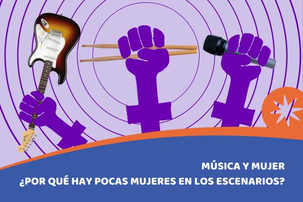 mujeres en la musica