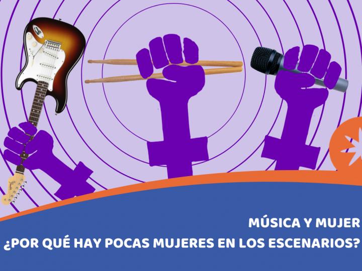 Mujer y música. ¿Por qué hay tan pocas mujeres en la música?