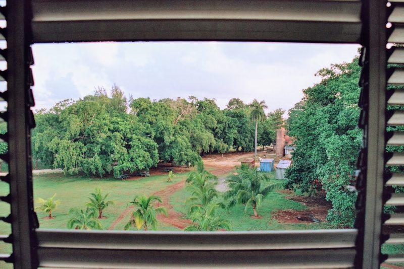 Vistas desde la habitación de la residencia