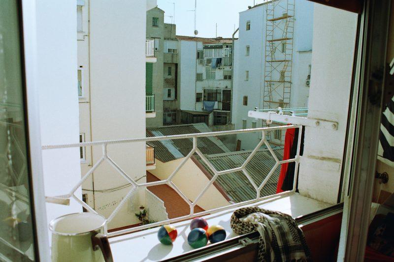 Vistas desde la habitación de Madrid