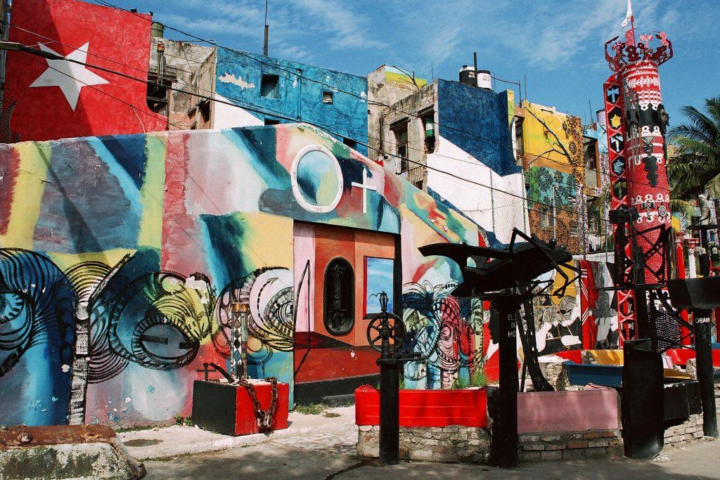 Callejón de Hamel en La Habana