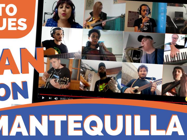 """RETO BLUES """"Pan Con Mantequillla"""" (videoclip multipantalla)"""